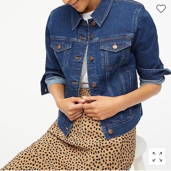 JCrew denim jacket. Brand new with tags. Pristine condition.